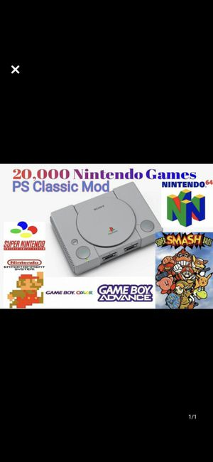 From 10,000 to 20,000 games for ps1 on a usb for Sale in ROWLAND HGHTS, CA
