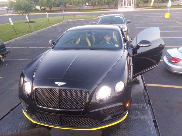2017 Bentley continental gt features