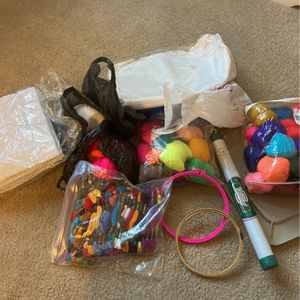 Huge cross stitch yarn and fabric lot for Sale in Lake Elsinore, CA