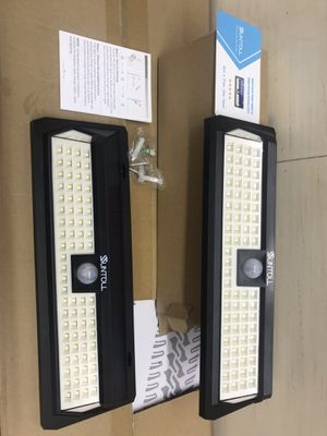 Brand new solar led light for garage with motion detection for Sale in Dallas, TX