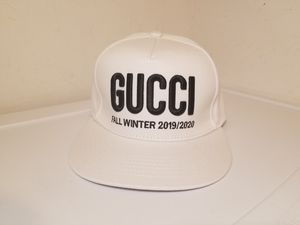 Gucci Unisex Logo White Hat for Sale in Queens, NY