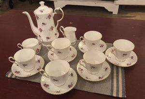 Original Princess House Exclusive Hammersley Fine Bone China Tea Set. 16 pcs. for Sale in Arroyo Grande, CA