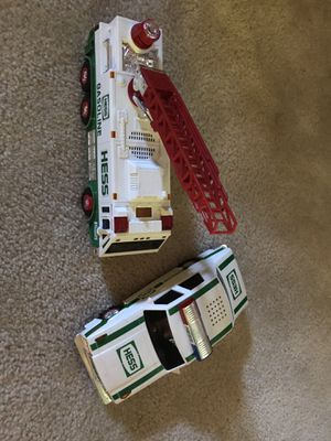 Collectible Hess Toy Emergency Vehicles. for Sale in Herndon, VA