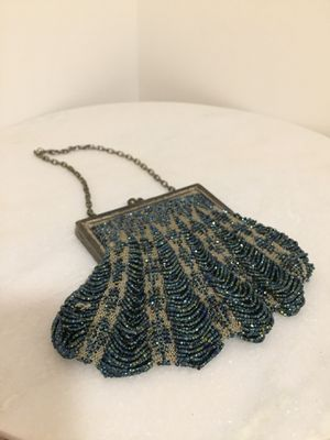 Antique Victorian microbeaded carnival glass purse for Sale in Richmond, VA