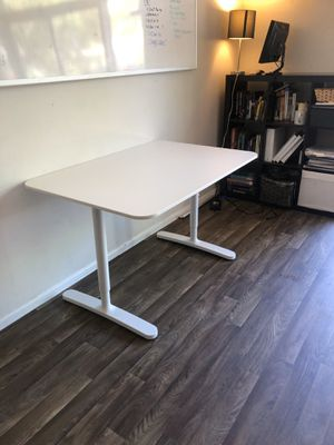 "BEKANT IKEA Office Desk — 47 1/4"" x 31 1/2"" with Adjustable Height. for Sale in Phoenix, AZ"