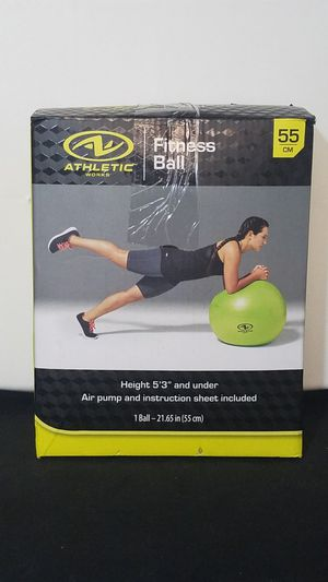 Athletic Works 55cm Exercise Yoga Ball for Sale in Santa Ana, CA