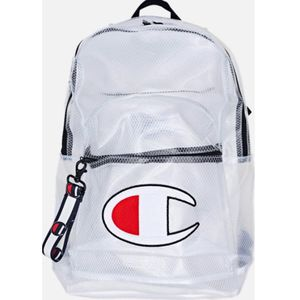 PRICE MATCH GUARANTEED Champion Supercize Clear White Backpack - White - One Size for Sale in Lake City, MI