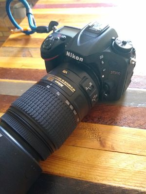Nikon D7200 w/ lenses for Sale in Belleair, FL