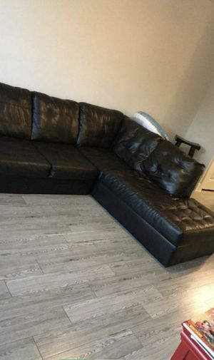 Large sectional couch 280 or best offer read details for Sale in Dallas, TX