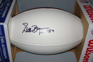 Signed authentic signature NFL ball. Willie Brown Hall of Fame Oakland Raiders for Sale in Dundalk, MD