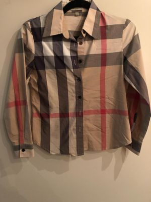 Burberry womens blouse for Sale in Toms River, NJ