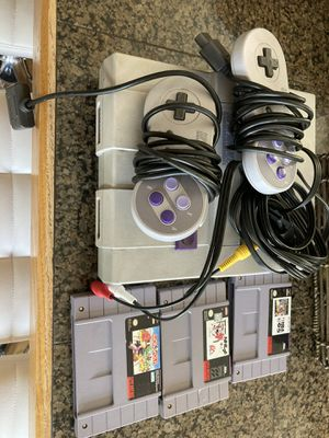 Classic Nintendo SNES collectible Arcade Game Console for Sale in Seattle, WA