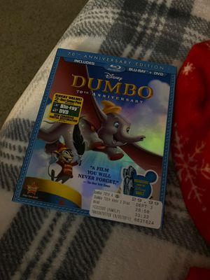 Dumbo DVD AND BLU RAY for Sale in Carrollton, TX
