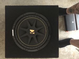 New amp and kicker subwoofer for Sale in Boyce, VA