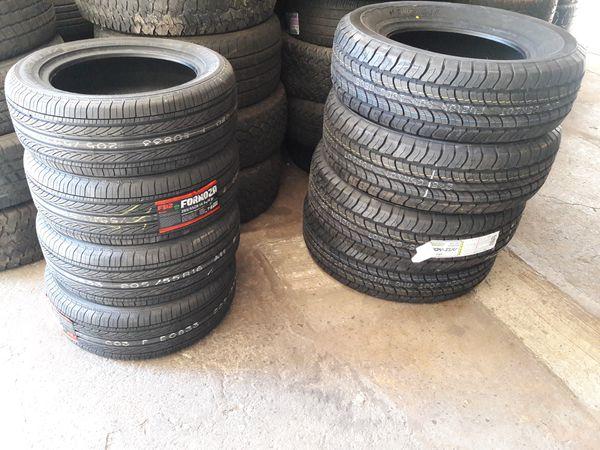 4 New 205-55-16 Ohtsu FP7000 tires * free install
