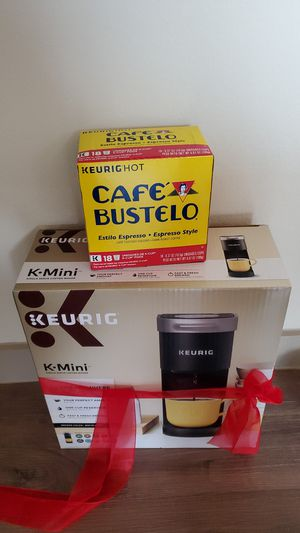 Keurig mini with K cup for Sale in Houston, TX