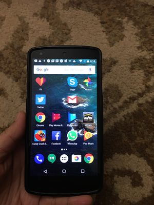Lg google nexus5 unlocked for any carrier 16gb for Sale in San Diego, CA