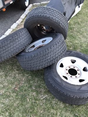 2008 F250 17inch wheels and tires for Sale for sale  Kearny, NJ
