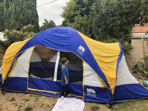 Alpine tent. 18' long x 10' wide. Holds 10 to 12 people comfortably.. Used only once in my back yard. Like new condition. for Sale in Costa Mesa, CA