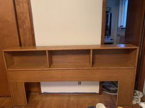 King size Wooden head board for Sale in Seattle, WA