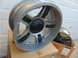 Brand New 20X10 GEAR ALLOY Gunmetal & Black Rims *6X5.5*6X135* *-25MM* for Sale in Aurora, CO