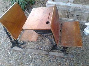 vintage antique school class room desks cool piece for Sale in Seattle, WA