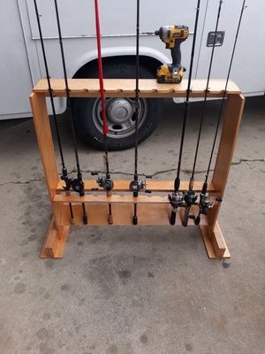 Fishing rod racks for Sale in Fresno, CA