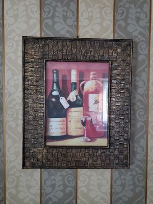 Decorative painting with wide classy frame for Sale in Hartford, CT