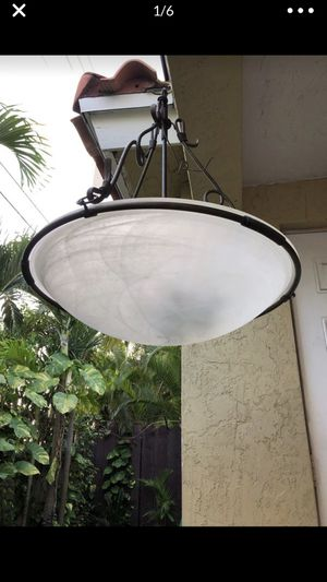 Roof hanging lamp light home chandelier for Sale in Miami, FL