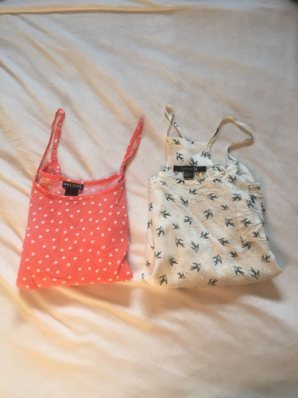 Wet seal and Forever 21 tanks ( large)