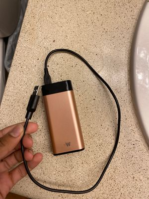 Portable charger with charger(for the portable) for Sale in Smyrna, GA