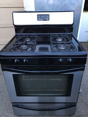 Frigidaire gas stove Stainless Steel for Sale in San Lorenzo, CA