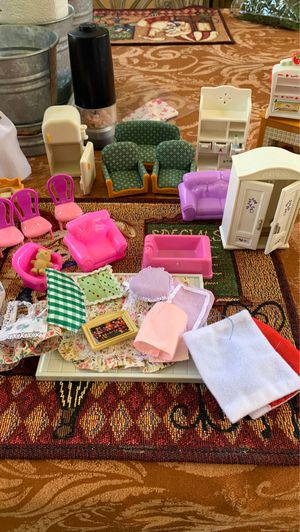 Doll house furniture for Sale in Moreno Valley, CA