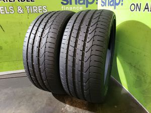 Two 255/35/19 *HIGH TREAD* PIRELLI P ZERO, 100 DAY WARRANTY, FREE MOUNT AND BALANCE!! for Sale in Town 'n' Country, FL