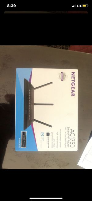 Netgear AC1750 Smart Wifi Router for Sale in El Cajon, CA