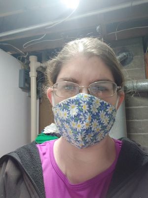 Homemade fabric mask for Sale in Roseville, MI