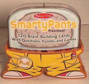 Melissa and Doug Smarty Pants Preschool 120 Cards for Sale in Wilmington, DE