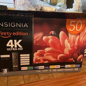 Insignia 50'' 4K UHD fire Tv for Sale in Fresno, CA