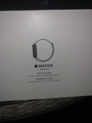 Apple series 2 like new black stainless for Sale in Victoria, TX