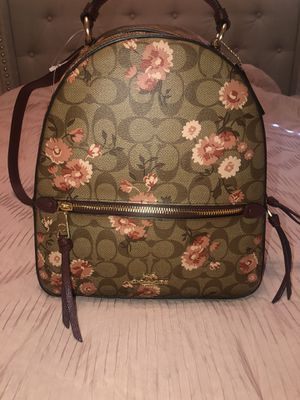 Burgundy Coach backpack for Sale in El Paso, TX