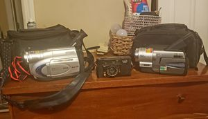 2 Camcorders and Camera for Sale in Pacific, MO