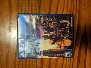 PlayStation 4 Kingdom Hearts 3 for Sale in Franklin, IN