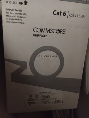 Commscope cat 6 cable boxes for Sale in Seattle, WA