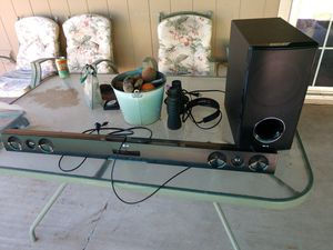 Lg sound bar and sub. for Sale in Glendale, AZ
