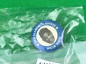 1969 San Francisco giants baseball team Willie Mays pin for Sale in Phoenix, AZ