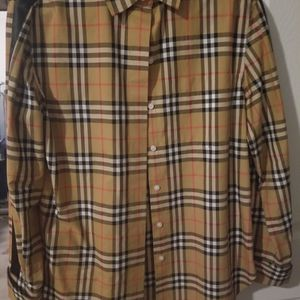 Burberry Shirt- Size 10 for Sale in Boulder City, NV