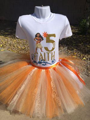 Moana Tutu Set for Sale in Phoenix, AZ