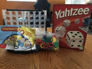 Connect 4x4 and Yahtzee Games for Sale in Orlando, FL