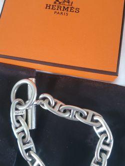 Authentic Hermes Chaine d' Ancre Bracelet for Sale in Alexandria,  VA