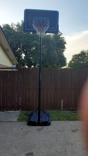 Portable Basketball Hoop for Sale in Richardson, TX